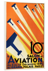 Foam board print  10 Salon de Aviation - Paris 1926 - Advertising Collection