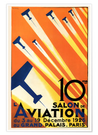 Premium poster  10 Salon de Aviation - Paris 1926 - Advertising Collection