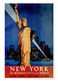 Premium poster  New York - Travel Collection
