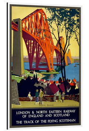 Aluminium print  Forth Bridge London Railway - Travel Collection