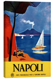 Canvas print  Naples, Italy - Travel Collection