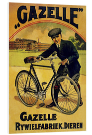 Foam board print  Gazelle Rywielen Bicycle - Advertising Collection
