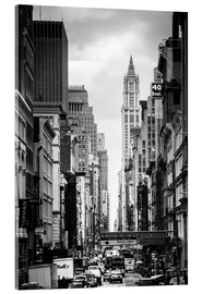 Acrylic glass  Streets of Manhattan - Michael Haußmann