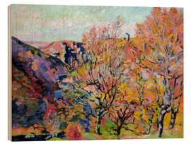 Wood print  The valley of the Sedelle in Crozant, 1898 - Jean Baptiste Armand Guillaumin