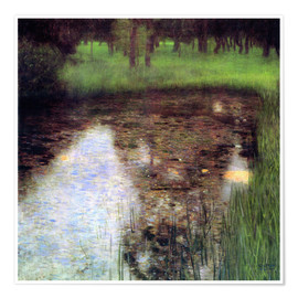Premium poster  The swamp - Gustav Klimt