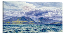 Canvas print  Isle of Arran, 7th August 1883 - John Brett