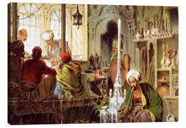 Canvas  Ottoman Coffee House - Amadeo Preziosi