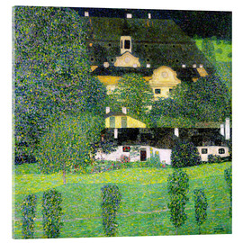 Acrylic print  Kammer Castle on Lake Attersee II - Gustav Klimt