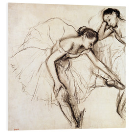 Forex  Two Dancers Resting - Edgar Degas