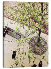 Gustave Caillebotte - Boulevard from above