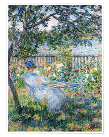Premium poster  La Terrasse (The Terrace) - Claude Monet