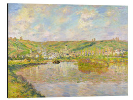 Alu-Dibond  Late Afternoon in Vetheuil - Claude Monet