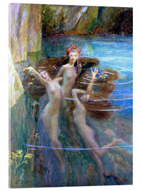 Gaston Bussiere - Water Nymphs 1927