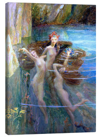 Canvas print  Water Nymphs 1927 - Gaston Bussiere