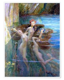 Poster Water Nymphs 1927