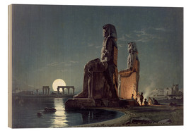 Carl Friedrich Heinrich Werner - The Colossi of Memnon, Thebes