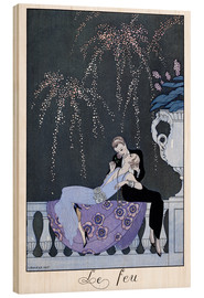 Wood  The Fire - Georges Barbier