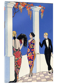Acrylic print  The taste of the scarf, 1922 - Georges Barbier