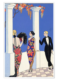 Premium poster The taste of the scarf, 1922