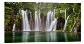 Andreas Wonisch - Paradise like waterfall in plitvice