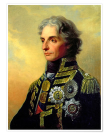 Premium poster Lord Horatio Nelson