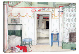 Canvas print  Brita's Forty Winks - Carl Larsson