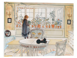 Forex  Flowers on the Windowsill - Carl Larsson