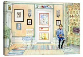 Canvas print  In the Corner - Carl Larsson