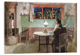 Acrylic print  When the Children have Gone to Bed - Carl Larsson