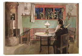 Wood  When the Children have Gone to Bed - Carl Larsson
