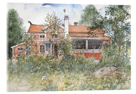 Acrylic print  The Cottage - Carl Larsson