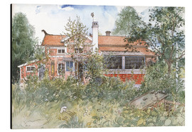 Aluminium print  The Cottage - Carl Larsson