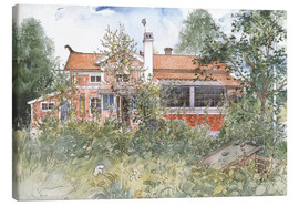 Canvas print  The Cottage - Carl Larsson
