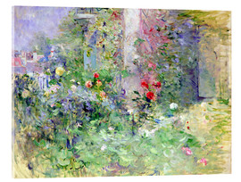 Acrylic print  The Garden at Bougival - Berthe Morisot