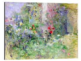 Aluminium print  The Garden at Bougival - Berthe Morisot