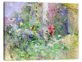 Canvas  The Garden at Bougival - Berthe Morisot