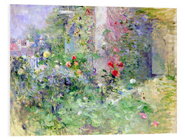 Foam board print  The Garden at Bougival - Berthe Morisot