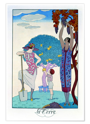 Premium poster The earth, 1925