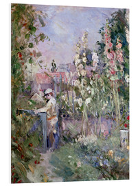 Berthe Morisot - Young Boy in the Hollyhocks