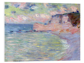 Forex  Cliffs and the Porte d'Amont, Morning Effect, 1885 - Claude Monet