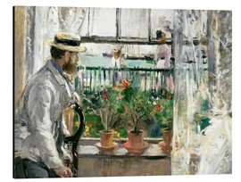 Aluminium print  Manet on the Isle of Wight - Berthe Morisot