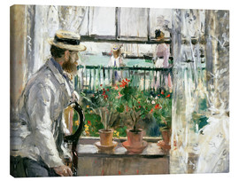Canvas  Manet on the Isle of Wight - Berthe Morisot