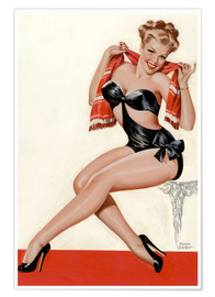 Poster Silk Stockings and High Heels