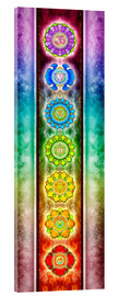 Acrylic glass  The seven chakras - Series III - Dirk Czarnota