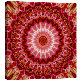 Canvas print  Mandala forever in Love - Christine Bässler