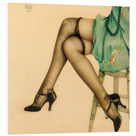 Forex  Black Stockings - Alberto Vargas