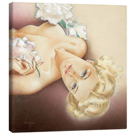 Canvas print  Glamour Pin Up - Alberto Vargas