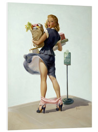 Foam board print  O Ooh! - Art Frahm