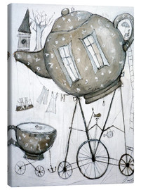 Canvas print  Tea-Transport - Christin Lamade
