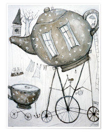 Poster  Tea-Transport - Christin Lamade